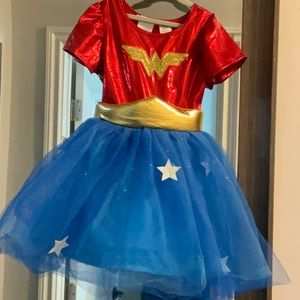 Pottery barn Wonder Woman girls costume